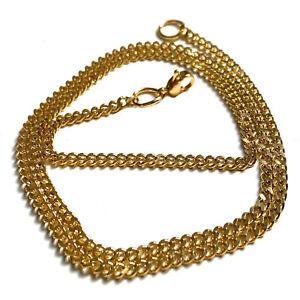 Collana oro acciaio uomo donna catenina catena cubana da 45 50 60 cm in inox