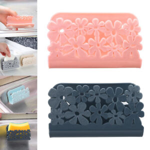 Kitchen-Storage-Rack-Holder-Sink-Drainer-Bathroom-Shelf-Soap-Sponge-Organizer