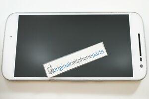 OEM-Motorola-MOTO-G4-XT1625-XT1621-LCD-Digitizer-Frame-ORIGINAL-BURN-IN-WHITE