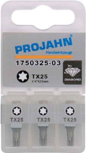 "1//4/"" Bit Diamantbeschichtet L25 mm TX25"