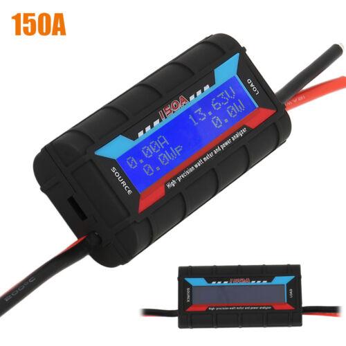 prise01 SH Analyseur puissance 150A LCD Volt Amp wattmètre solaire