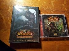 WORLD OF WARCRAFT :CATACLYSM COLLECTORS SOUNDTRACK / DVD 2010 CD SEALED UNOPENED