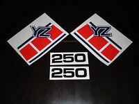 1985 Yamaha Yz 250 Gas Tank And Side Panel Decals Ahrma