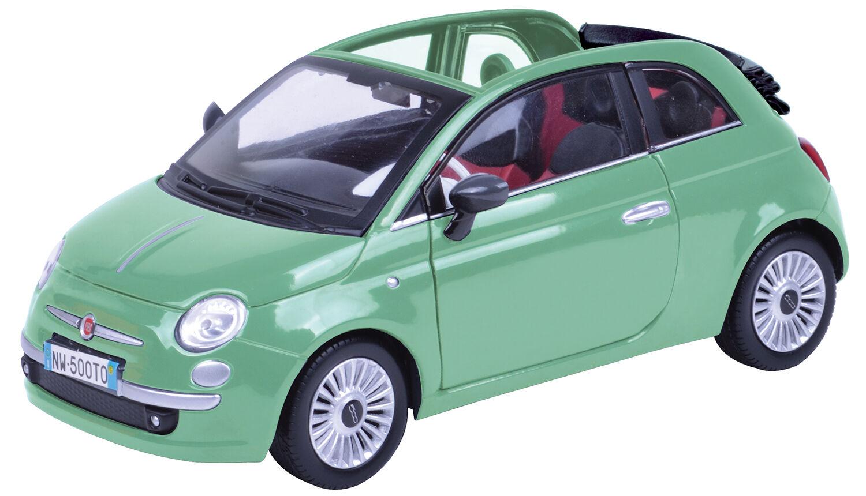 Diecast voiture Motormax (1 18) Fiat Nuova Cabrio (no 79164)