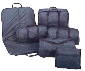 Image Is Loading Garment Bag Luggage Set 6 Pieces Suit 5