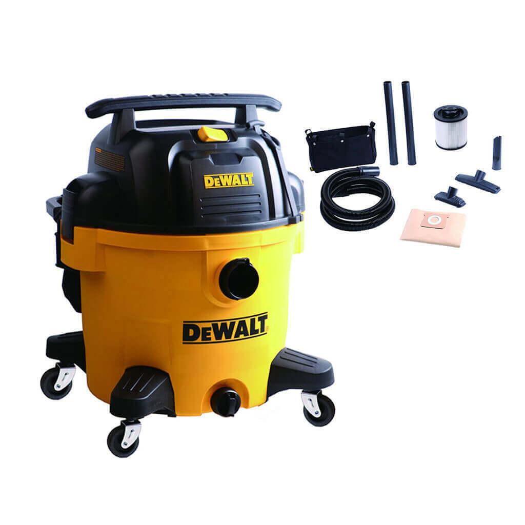 DEWALT DXV10P 10-Gallon 5.5 HP 2-Stage QUIET Wet Dry Vacuum