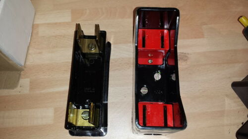 GEC 100A RED SPOT FUSE HOLDER AND BASE RS100 RED SPOT FUSE CARRIER 100AMP