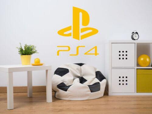 Calcomanía De Pared Pegatina de PlayStation, juego de transferencia moderno Decoración,