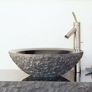 Image Is Loading Stone Forest C25 Bg Beveled Round Vessel Sink
