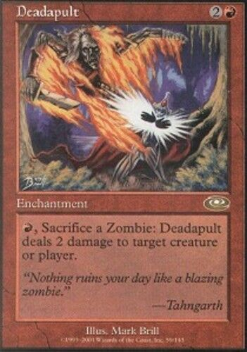 4 Deadapult ~ Lightly Played Planeshift 4x x4 Playset UltimateMTG Magic Red Card