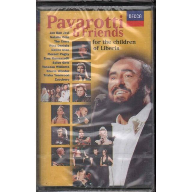Pavarotti & Friends ‎MC7 For The Children Of Liberia Sigillata 0028946060049