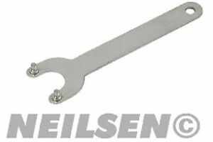 New-115mm-4-1-2-034-Replacement-Angle-Grinder-Flange-Nut-2-Pin-Spanner-UK-STOCK
