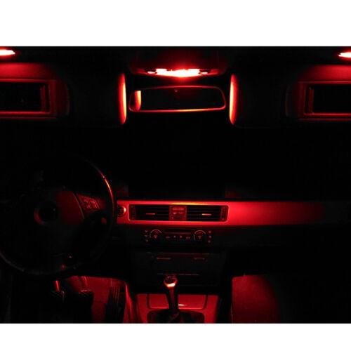 SMD LED Innenraumbeleuchtung VW Passat B7 Limo Variant rot Komplett Set