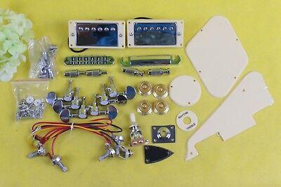 unfinished diy electric guitar kit guitar hardware pickup bridge tailpiece ebay. Black Bedroom Furniture Sets. Home Design Ideas