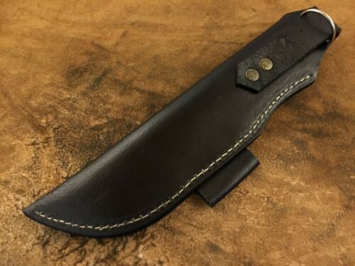 Handmade fourreau en cuir pour custom Knife-Couteau gaine-Fire Stick Support-BGS19