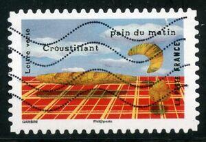 France Autoadhesif Oblitere N° 1456 Le Gout // Le Pain Pourtant Pas Vulgaire