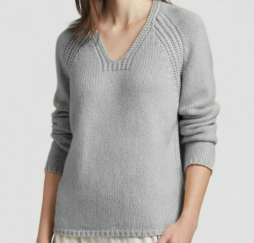 Eileen fisher Lofty Recycled Cashmere V-Neck Sweat