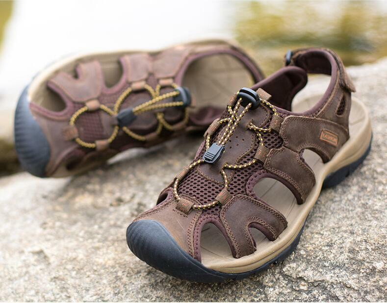 Mens Hollow  Beach Summer Sport Sandals outdoor hot Sale Hiking Casual shoes New