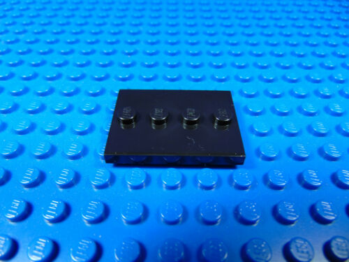 LEGO-MINIFIGURES SERIES 1,2,3,4,5,6,7,8,9,10,11,12,13 X 1O USED BLACK BASES PART