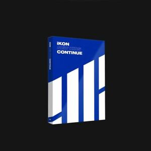 iKON-New-Kids-Continue-Album-Blue-Ver-CD-Poster-Booklet-PhotoCard-KPOP