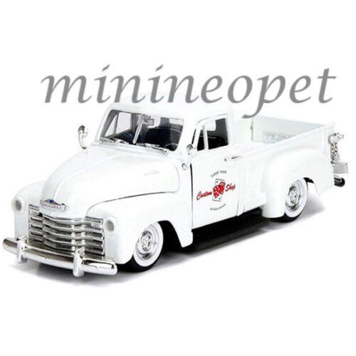 JADA 99177 1953 CHEVROLET 3100 PICK UP TRUCK 1/24 LAS VEGAS NEVADA WHITE