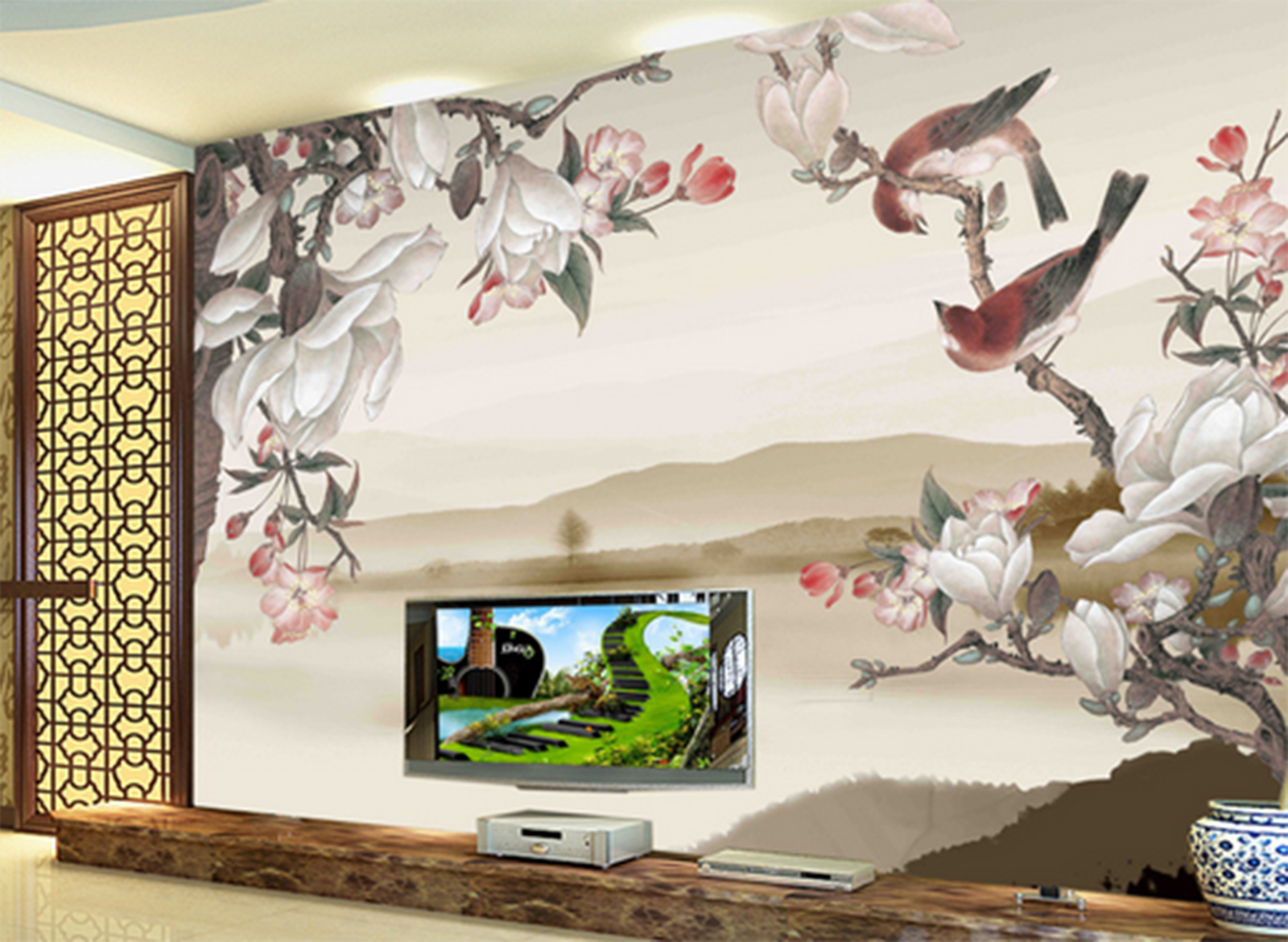 3D Painted Squid Birds 845 Paper Wall Print Wall Decal Wall Deco Indoor Murals