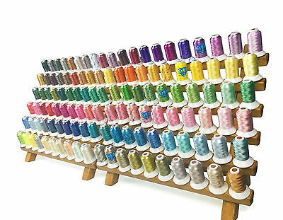120 Colors 1000M//pc SIMTHREAD 40Wt Polyester Embroidery Home Machine Thread