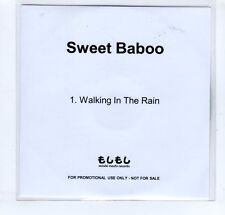 (GP68) Sweet Baboo, Walking In The Rain - DJ CD