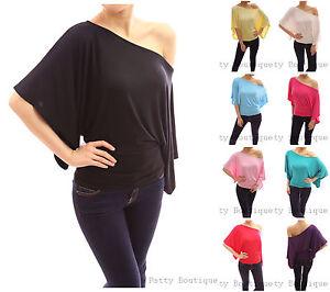 Kimono-Sleeve-One-Shoulder-Blouse-Tops