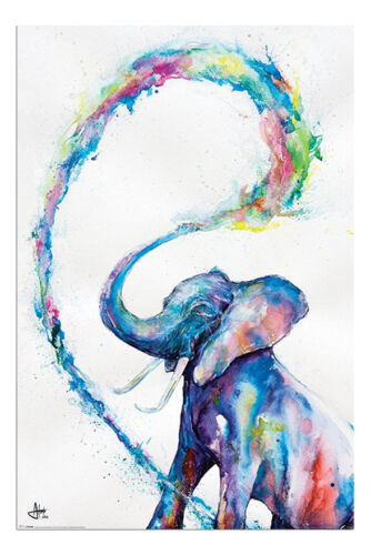 Marc Allante Elephant Art Poster New Maxi Size 36 x 24 Inch