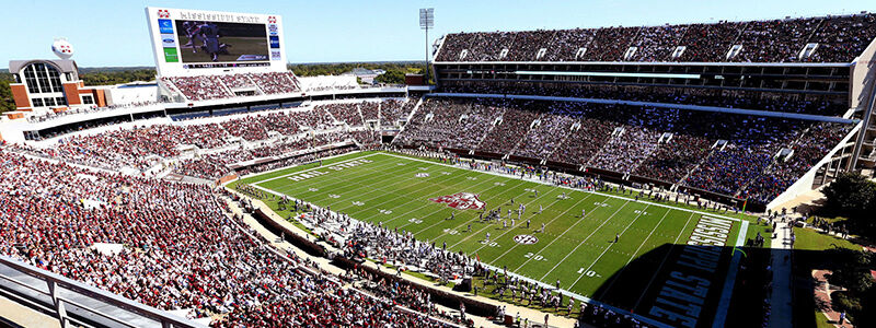 Ole Miss Rebels at Mississippi State Bulldogs Football