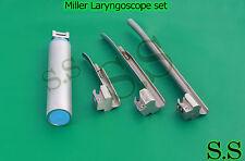 Miller Laryngoscope Set Veterinary Surgical Instruments Ls 3001