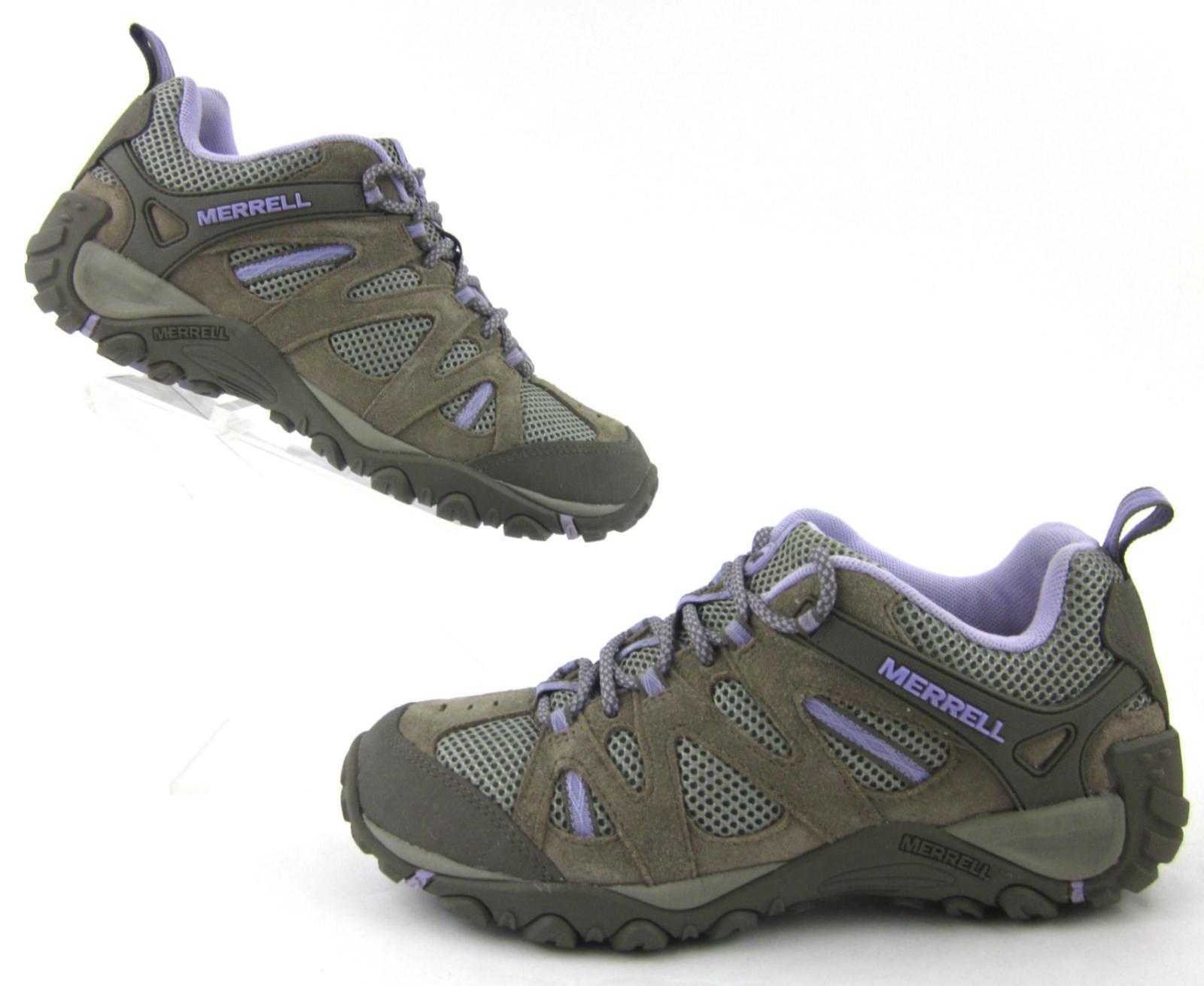 Merrell Yokota blueeff Ventilator Hiking shoes Brown   Lavender US 8