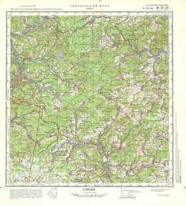 image is loading russian soviet military topographic maps siegen germany 1