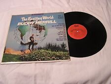 Buddy Merrill  LP-THE EXCITING WORLD OF BUDDY MERRILL AND HIS GUITARS STEREO