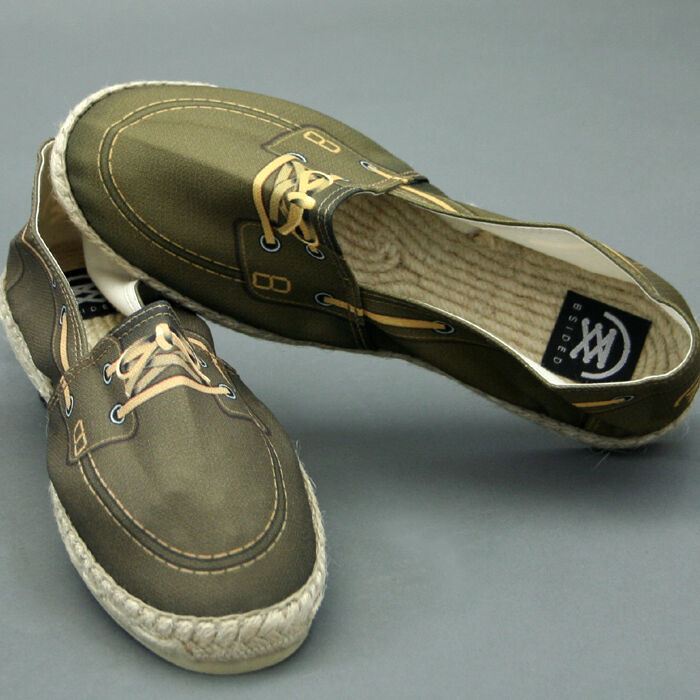 B Sided shoes in Rope Mod. Kayak Brown