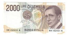 2000 LIRE guglielmo marconi 1992 sostitutiva XB....A sup  LOTTO 1595
