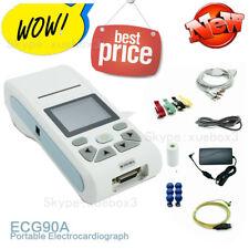 Contec Ship Ecg90a Handheld 12 Lead Ecg Electrocardiograph Portable Ecg Machine