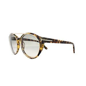 90dc2410b784 Image is loading Tom-Ford-Sunglasses-0383-Joan-56B-Havana-Grey-