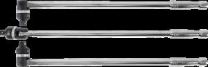 """BGS Gelenkgriff mit Umschaltknarre Abtrieb Außenvierkant 125mm 1//2/"""" 620mm"""