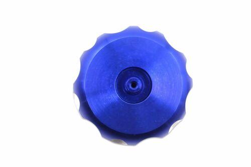 NEW CNC ATV FEUL GAS CAP E-TON AXL KOLT LG POLARIS APEX DRR DRX 50 70 90CC BLUE