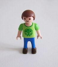 PLAYMOBIL (3118) ENFANT MODERNE - Garçon Tee Shirt Vert Pantalon Bleu