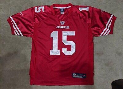 Awesome REEBOK San Francisco 49ers Michael Crabtree jersey - STITCHED - sz 48 xl   eBay