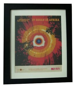 CHEMICAL-BROTHERS-Afrika-POSTER-AD-ORIGINAL-2001-QUALITY-FRAMED-FAST-GLOBAL-SHIP
