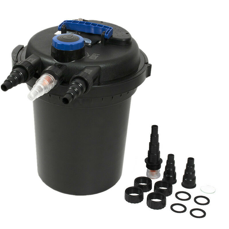Pond Pressure Bio Filter 4000gal W 13w Uv Sterilizer Light 10000l Koi Water Us Ebay