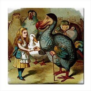 Alice-In-Wonderland-Ceramic-Tile-Art-Meets-Dodo-Bird-Color