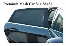 Premium Mesh Car Sun Shades Cover for rear side window   UV Protection  Block...
