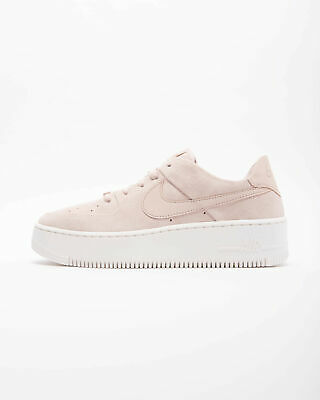 huge discount 18d68 9d8f4 NIKE WMNS AIR FORCE 1 SAGE LOW AR5339-201 PARTICLE BEIGE PARTICLE BEIGE  PHANTOM | eBay