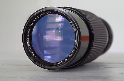 Canon FD 70-210mm f/4 FD Mount Telephoto Lens Macro Manual Zoom