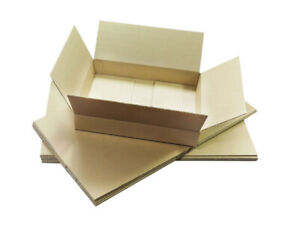 ROYAL MAIL SMALL PARCEL SIZE POSTAL CARDBOARD BOXES 12 X 9 X 2.5 FREE DELIVERY